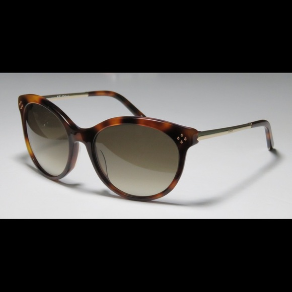 fb731827de2 Chloé ce641s tortoise cat eye oversized sunglasses